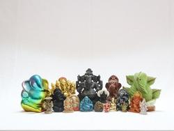 hindu god lord ganesha idol collection