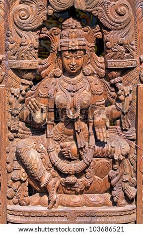 Hindu Goddess Lakshmi