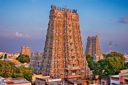 Hindu meenakshi amman temple