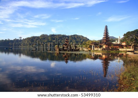 Hindu Temple at Bali Indonesia
