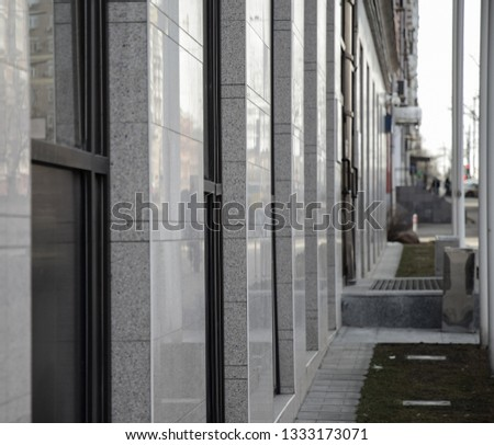 Hinged ventilated facades. Decoration of facades with ceramic tiles. #1333173071