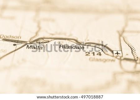 Hinsdale, USA. #497018887