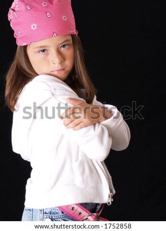 Hip Hop Little Girl Stock Photo 1752858 : Shutterstock
