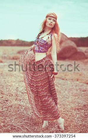 Free photos Hippie-girl  9f5793b4c1df