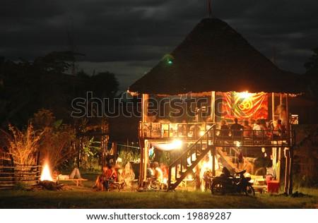 Hippy Hut Night Thailand