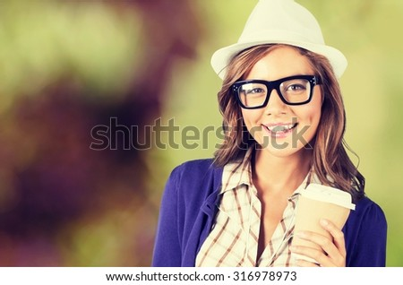 Hipster woman. #316978973