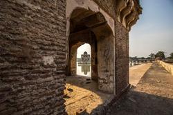 Hiran Minar Side Angel View, Sheikhupura, Punjab, Pakistan