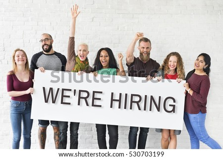 Hiring Career Employment Human Resources Concept #530703199