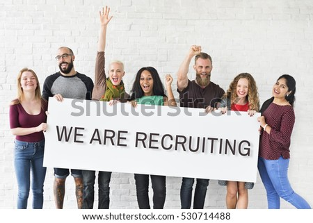Hiring Career Employment Human Resources Concept #530714488