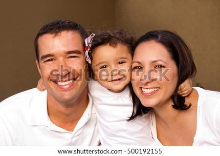 Hispanic Family #500192155
