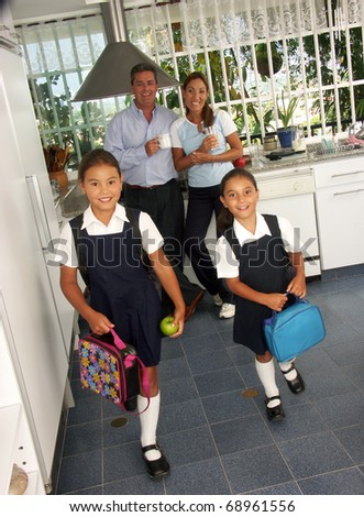 School Girls Going Commando http://www.shutterstock.com/pic-68961556/stock-photo-hispanic-little-girls-going-to-school.html