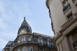 Historic architecture of the city center of Buenos Aires, capital of Argentina.