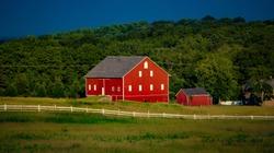 Historic barn, Gettysburg National Military Park, Gettysburg, PA