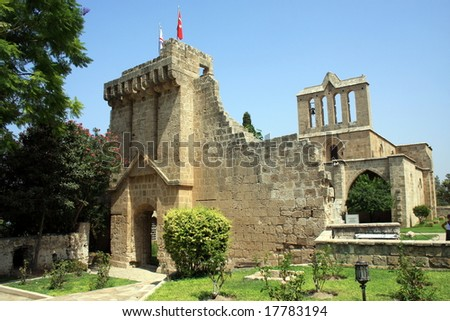 Historic Bellapais Abbey in Northern Cyprus