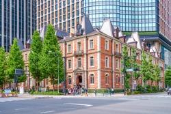 historic building in Tokyo, Japan