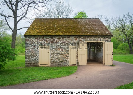 Historic buildings at Valley Forge National Historical Park