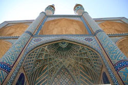 Historic buildings in middle of Iran.