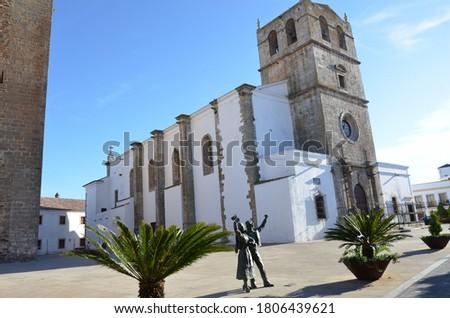 Historic buildings in the city of Badajoz