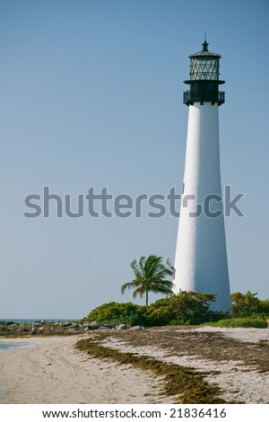 historic cape florida lighthouse