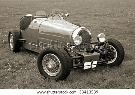 Historic car - vintage photography