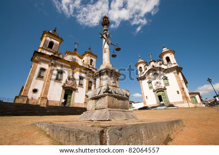 Historic Catholic Church in Brazil