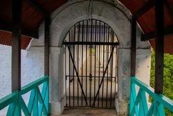 Historic Cellular Jail or Kala Pani on South Andaman Island, Andaman and Nicobar Islands, India