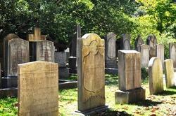 Historic cemetery in Charleston South Carolina