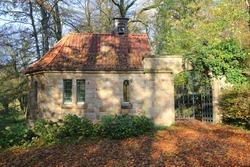 Historic chapel in Lengerich, Westphalia, Germany
