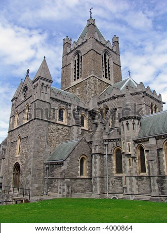 Historic Christ Church Cathedral, Dublin, Ireland