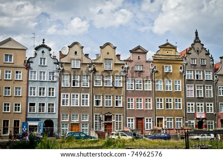 historic city of Gdansk, Poland