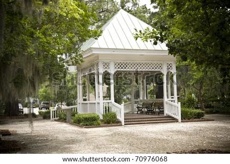 Historic Crawford Square in Savannah, Georgia