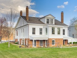 Historic Elijah Iles House in Springfield, Illinois