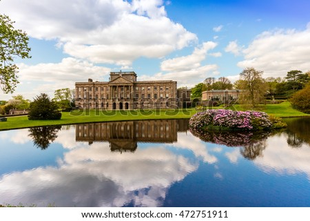 Historic English Stately Home in Cheshire.