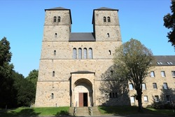 Historic Gerleve Abbey near Coesfeld in Westphalia, Germany