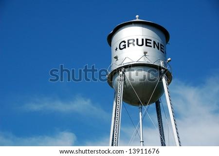 Historic Gruene, Texas Water Tower