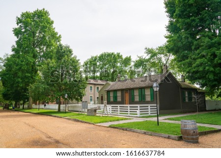 Historic House at Lincoln Home National Historic Site