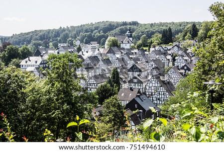 historic houses in Freudenberg #751494610