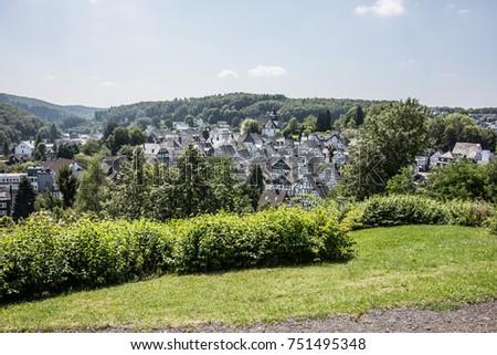 historic houses in Freudenberg #751495348