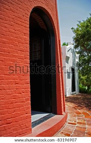 Historic Jupiter Inlet Lighthouse (1860) Entrance, Jupiter, Florida