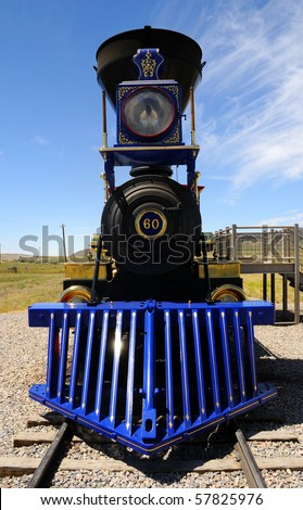 Historic Jupiter Steam Locomotive at Golden Spike National Monument