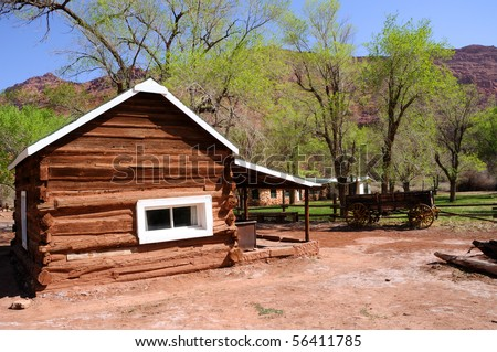 Historic Log Cabin at Lee's Ferry