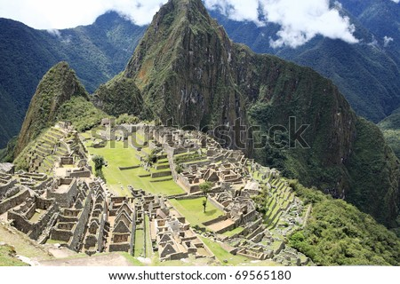 Historic Lost City of Machu Picchu - Peru