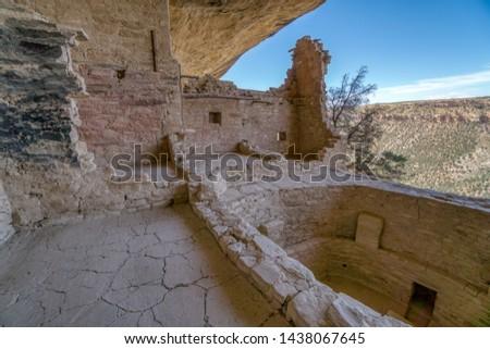 Historic Mesa Verde National Park Landmarks #1438067645
