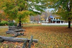 Historic Millbrook Village in Delaware water gap recreation area