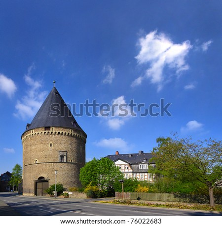 Historic old town of Goslar in Lower Saxony, Germany, UNESCO World Heritage Site