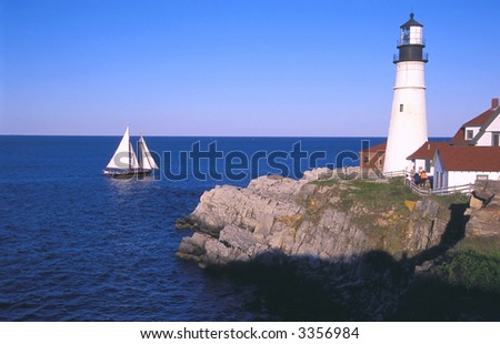 historic portland head lighthouse maine