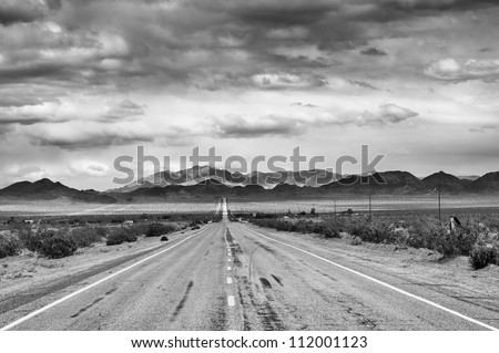 historic route 66 in mojave...