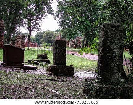 historic ruins of san ignacio...