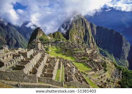 Historic Sanctuary of Machu Picchu - Peru