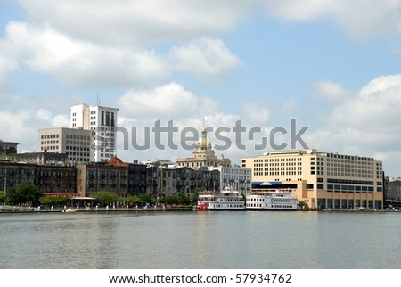 Historic Savannah River Georgia